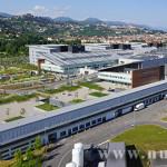 Vista aerea del Nuovo Ospedale
